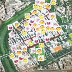 mappa emotiva dei ragazzidel quartiere