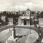 la piazza nel 1930